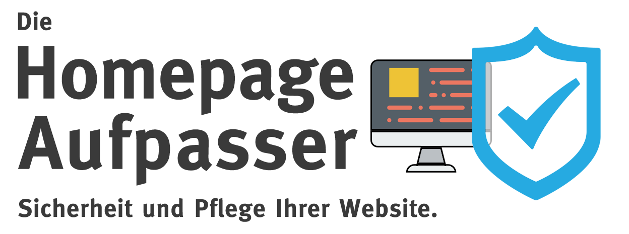 Homepage Aufpasser. Website Wartung und Support.